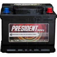 180 Amper President Akü